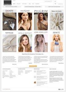 Lizzielane Jewellery Homepage