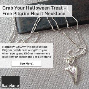 Free Pilgrim Heart Necklace